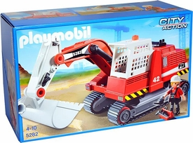 Playmobil City Action Set #5282 Construction Excavator New!