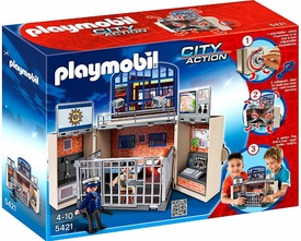 Playmobil City Action Set #5421 My Secret Play Box Police Station