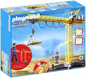 Playmobil City Action Set #5466 Large Crane New!