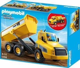 Playmobil City Action Set #5468 Industrial Dump Truck New!