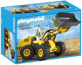 Playmobil City Action Set #5469 Large Front Loader New!