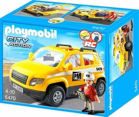Playmobil City Action Set #5470 Site Supervisor's Vehicle New!