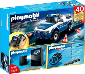 Playmobil City Action Set #5528 RC Police Car with Camera