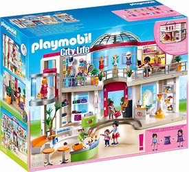 Playmobil City Life Set #5485 Furnished Shopping Mall New!