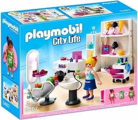 Playmobil City Life Set #5487 Beauty Salon