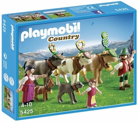 Playmobil Country Set #5425 Alpine Festival Procession