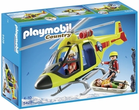 Playmobil Country Set #5428 Mountain Rescue Helicopter