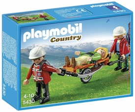 Playmobil Country Set #5430 Mountain Rescuers & Stretcher