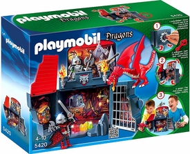 Playmobil Dragons Set #5420 My Secret Play Box Dragon`s Lair