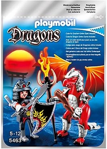 Playmobil Dragons Set #5463 Fire Dragon with Warrior
