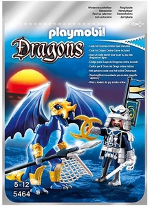Playmobil Dragons Set #5464 Ice Dragon with Warrior