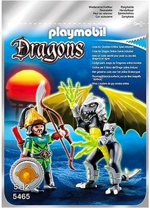 Playmobil Dragons Set #5465 Lightning Dragon with Warrior