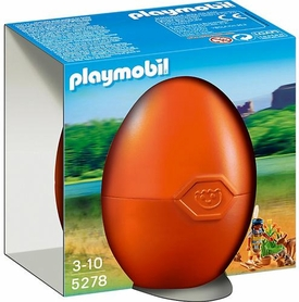 Playmobil Egg Set #5278 Native American Girl with Forest Animals