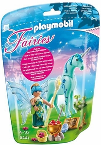 Playmobil Fairies Set #5441 Healer Fairy with Sapphire Night Unicorn