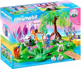 Playmobil Fairies Set #5444 Fairy Island with Jewel Fountain