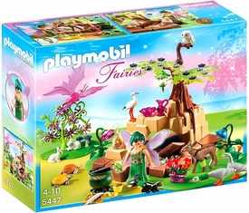 Playmobil Fairies Set #5447 Healing Fairy Elixia in Animal Forest