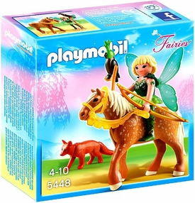 Playmobil Fairies Set #5448 Forest Fairy Diana with Horse