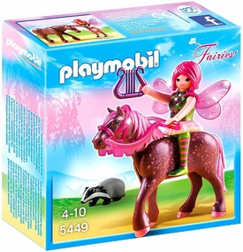 Playmobil Fairies Set #5449 Forest Fairy Surya with Horse