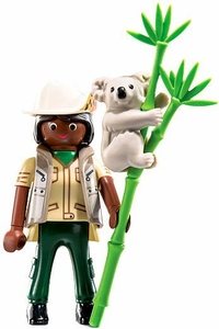 Playmobil Fi?ures Series 6 LOOSE Mini Figure Aussie Zookeeper
