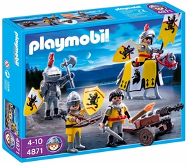 Playmobil Knights Set #4871 Lion Knights Troop