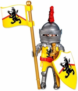 Playmobil Knights Set #7534 Yellow Lion Knight Leader
