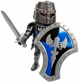 Playmobil LOOSE Mini Figure Armored Champion with Sword & Shield