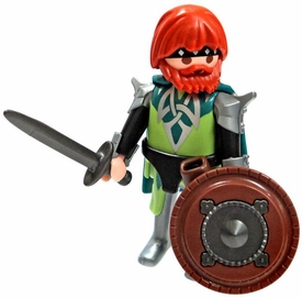 Playmobil LOOSE Mini Figure Celtic Warrior with Sword & Shield