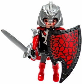 Playmobil LOOSE Mini Figure Dragon Knight in Scale & Plate Armor