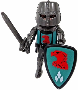 Playmobil LOOSE Mini Figure Falcon Knight with Great Helm, Sword & Shield