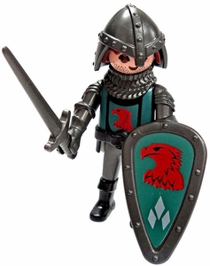 Playmobil LOOSE Mini Figure Falcon Man-at-Arms Sword & Shield