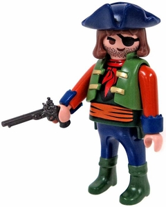 Playmobil LOOSE Mini Figure Pirate with Flintlock Pistol