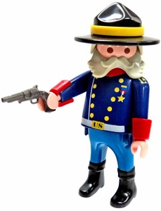 Playmobil LOOSE Mini Figure Union Officer with Pistol