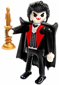 Playmobil LOOSE Mini Figure Vampire Lord with Candelabra