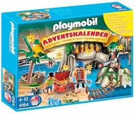 Playmobil Pirates Advent Calendar Set #4164 Pirates Treasure Cove
