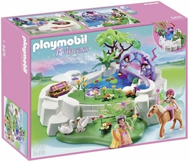 Playmobil Princess Set #5475 Magic Crystal Lake New!
