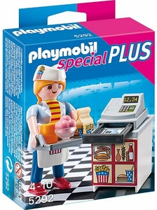 Playmobil Special Set #5292 Waitress with Cash Register