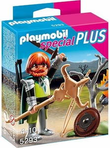 Playmobil Special Set #5293 Celtic Warrior with Campfire