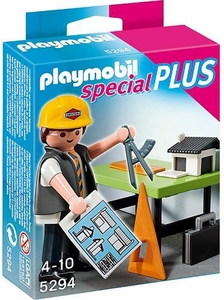 Playmobil Special Set #5294 Architect with Planning Table