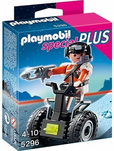 Playmobil Special Set #5296 Top Agent with Balance Racer