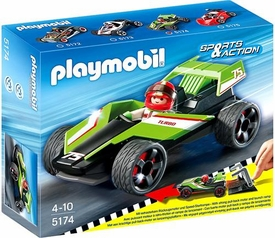 Playmobil Sports & Action Set #5174 Turbo Racer BLOWOUT SALE!