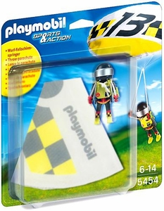 Playmobil Sports & Action Set #5454 Parachutist Greg