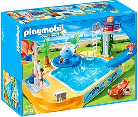 Playmobil Summer FunSet #5433 Children`s Pool with Whale Fountain