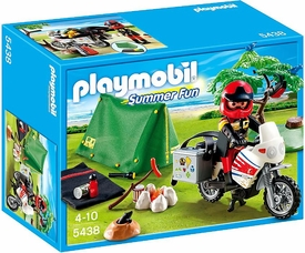 Playmobil Summer FunSet #5438 Biker at Camp Site