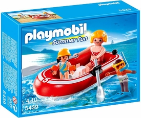 Playmobil Summer FunSet #5439 Swimmers with Raft
