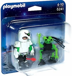 Playmobil Top Agents Set #5241 Duo Pack Space Man with Spy Robot