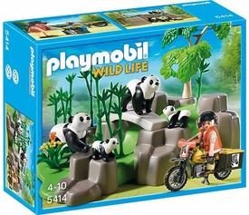 Playmobil Wild Life  Set #5414 Pandas in Bamboo Forest