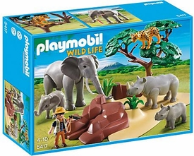 Playmobil Wild Life  Set #5417 African Savannah with Animals