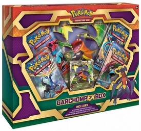 Pokemon Black & White Garchomp-EX Box
