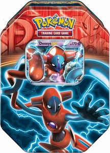 Pokemon Black & White Fall 2013 Team Plasma Tin Deoxys EX