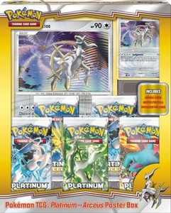 Pokemon Arceus (PL4) Deluxe 5-Pack Poster Box